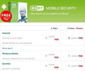 ESET Mobile Security Giveaway