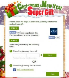 New Year Giveaway Step 4