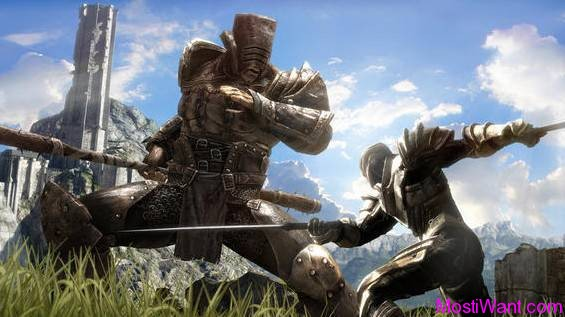 Infinity Blade 2 iOS Game