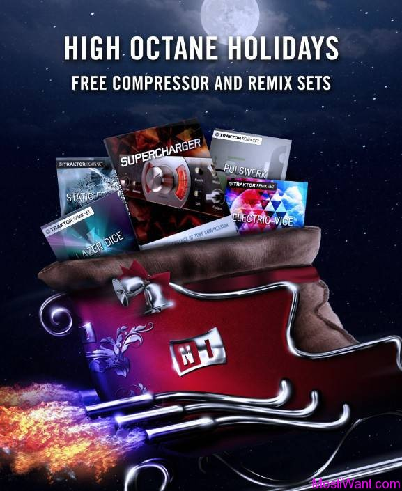 Native Instruments 2013 Holiday Giveaway