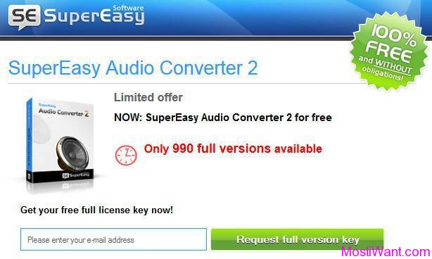 SuperEasy Audio Converter 2 For Free