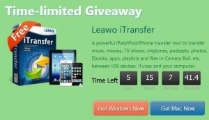 Leawo iTransfer Easter Giveaway