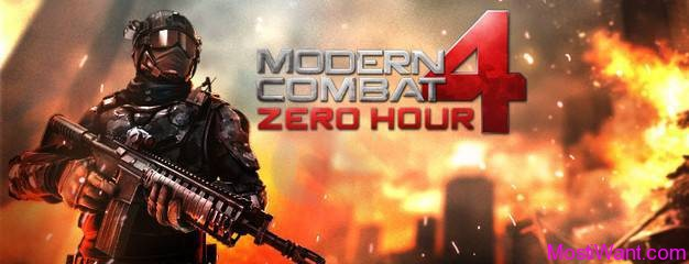 Modern Combat 4 Zero Hour iOS Game