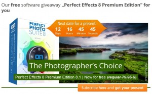 Perfect Effects 8 Premium Edition Giveaway