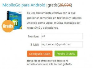 Wondershare MobileGo For Android Giveaway
