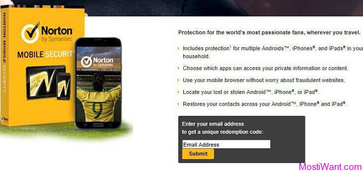 Norton Mobile Security Premium Free Giveawayl