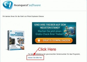 Avanquest Photo Explosion Deluxe 5 Email Confirmation