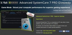 IObit Advanced SystemCare Pro 7 For Free