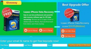 Leawo iOS Data Recovery SOS Giveaway