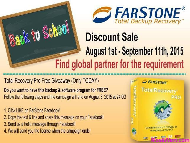 FarStone Total Recovery Pro Giveaway