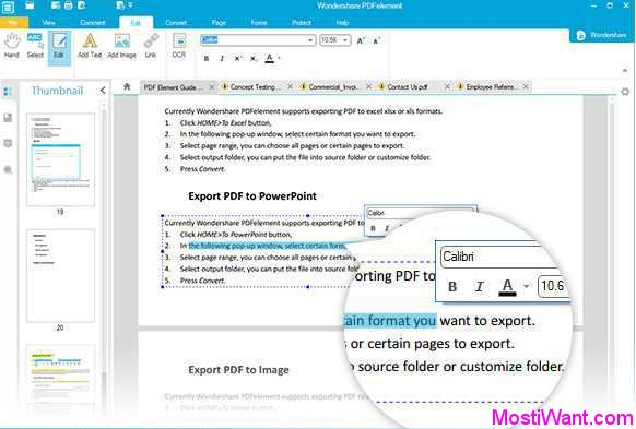 Wondershare PDFelement (formerly Wondershare PDF Editor)