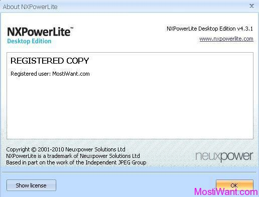 NXPowerLite Desktop Edition 4 Full Version