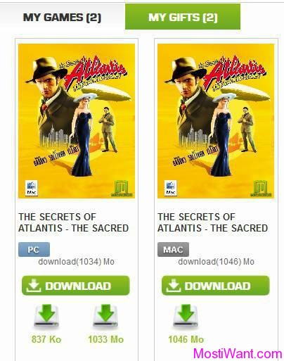 The Secrets of Atlantis Full Version Download