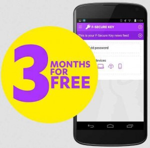 F-Secure Key Premium Free For 3 Months