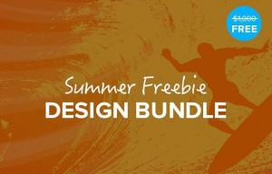 The Summer Freebie Design Bundle
