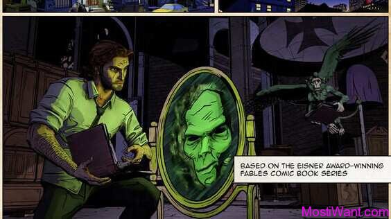 The Wolf Among Us iOS Game