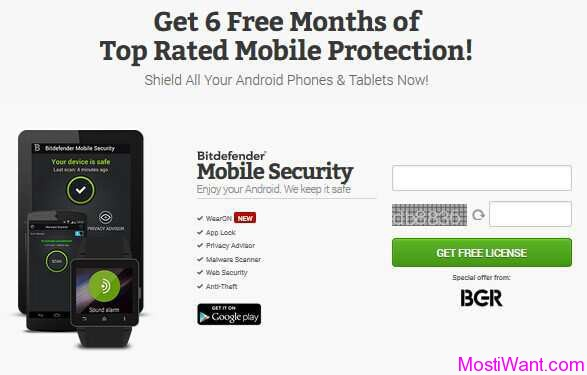 BitDefender Mobile Security Giveaway