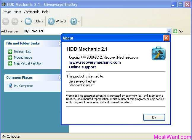HDD Mechanic Standard
