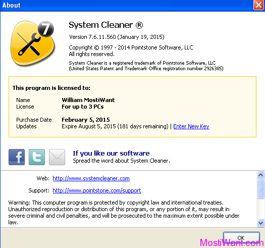 PointStone System Cleaner 7 Free Full Version