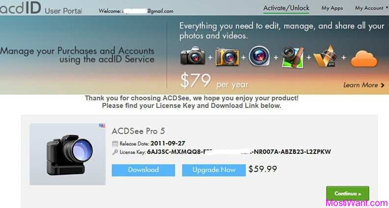 ACDSee Pro 5.3 Free License Key