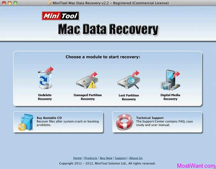 MiniTool Mac Data Recovery