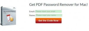 Wondershare PDF Password Remover for Mac Giveaway