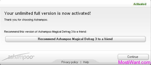 Ashampoo Magical Defrag 3 Full Version