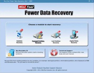 MiniTool Power Data Recovery Boot Disk
