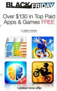 Amazon Appstore Black Friday Giveaway