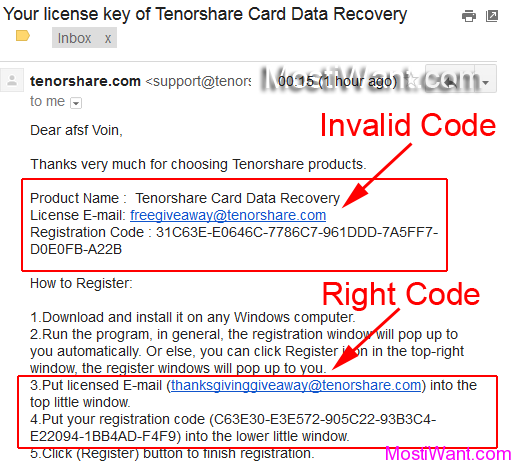 Tenorshare Card Data Recovery Serial Key