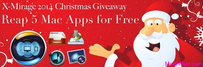 X-Mirage 2014 Christmas Giveaway