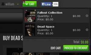 Dead Space and Fallout Collection For Free