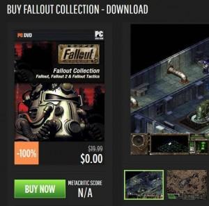 Fallout Collection For Free