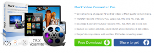 MacX Video Converter Pro For Mac Free Giveaway