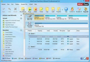 MiniTool Partition Wizard Professional Edition 9