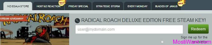 RADical ROACH Deluxe Edition For Free