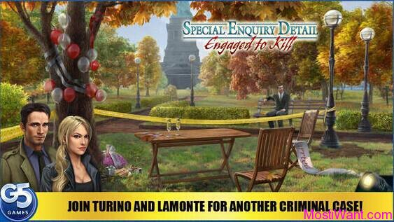 Special Enquiry Detail - Engaged to Kill