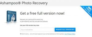 Ashampoo Photo Recovery Free Giveaway