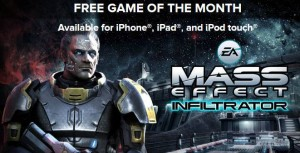 Mass Effect Infiltrator iOS Game For Free