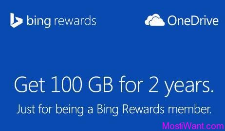 OneDrive Free 100GB Cloud Storage