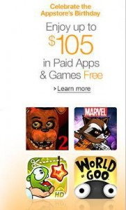Amazon Appstore Birthday Giveaway