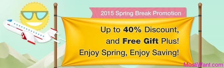 DVDFab 2015 Spring Break Promotion