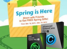 IObit Spring Giveaway