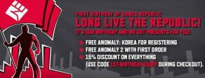 Anomaly Korea Free Steam Giveaway