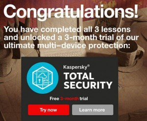 Kaspersky Total Security Free 3-Month Trial