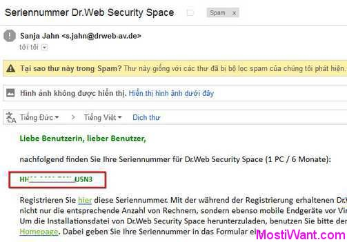 Dr.Web Security Space 9 Free Giveaway