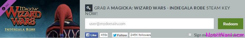 MAGICKA WIZARD WARS INDIEGALA ROBE STEAM KEY