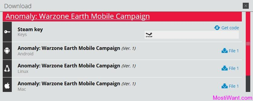 Anomaly Warzone Earth Mobile Campaign For Free