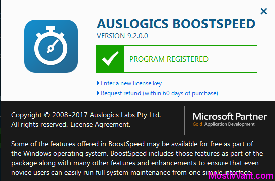 Auslogics BoostSpeed 9 Full Version