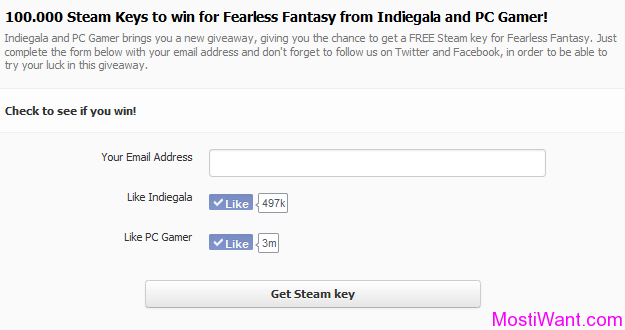 Fearless Fantasy Free Steam Key Giveaway